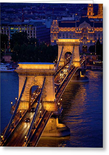 Europe, Hungary, Budapest Greeting Card by Jaynes Gallery