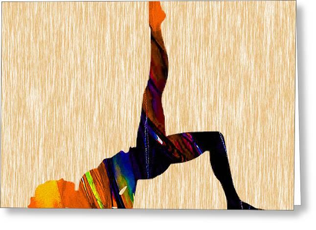 Fitness Greeting Cards - Fitness Greeting Card by Marvin Blaine