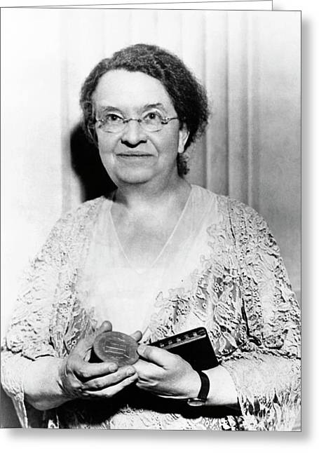 Florence Sabin Greeting Card by American Philosophical Society