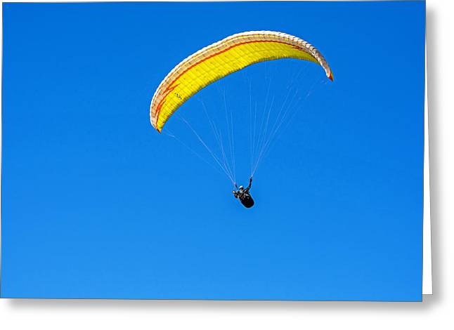 Flying Greeting Card by Elijah Weber