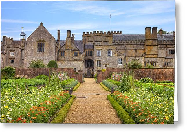 Garden Photographs Greeting Cards - Forde Abbey Greeting Card by Joana Kruse