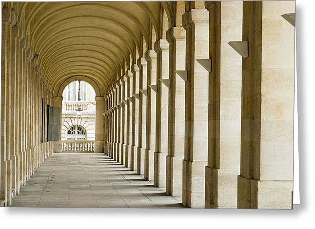 France, Bordeaux, Grand Theatre De Greeting Card by Emily Wilson