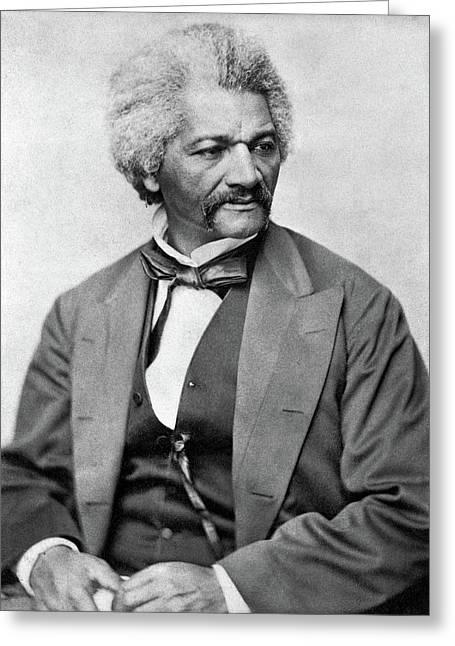 Frederick Douglass (c1817-1895) Greeting Card by Granger