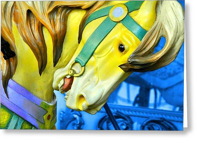GOLDEN STEED Greeting Card by JAMART Photography
