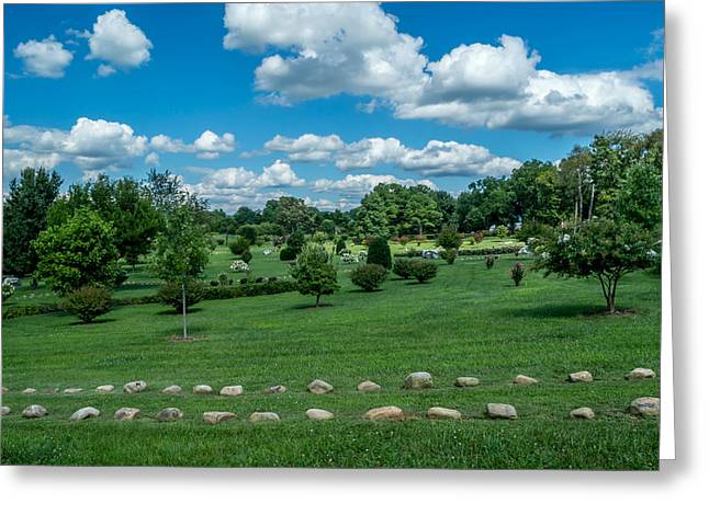 Historic Franklin Tennessee Greeting Cards - Harveys Garden Greeting Card by John Ray