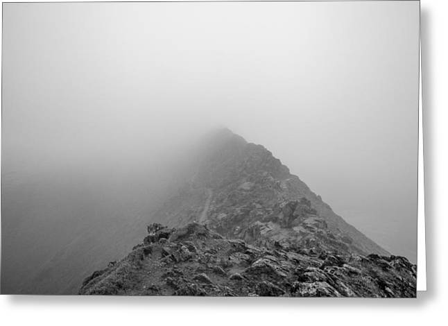 Mike Taylor Greeting Cards - Helvellyn Greeting Card by Mike Taylor
