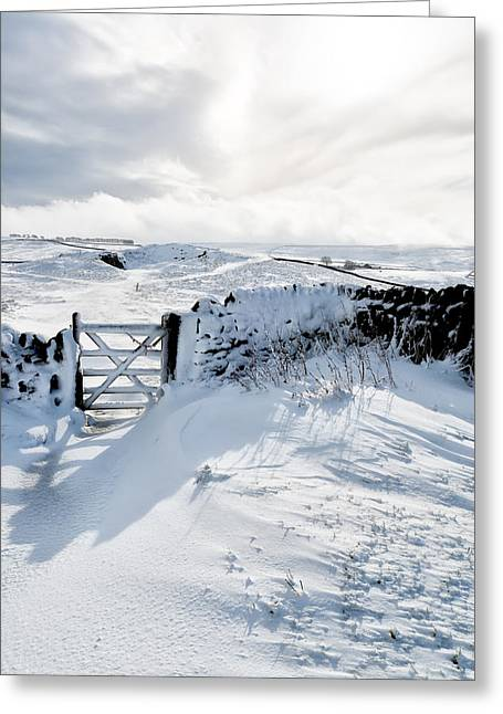 Castleton Greeting Cards - High Peak Derbyshire Greeting Card by Ollie Taylor