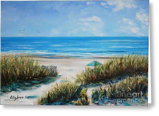 Stanton Allaben Greeting Cards - Hilton Head Beach Greeting Card by Stanton Allaben