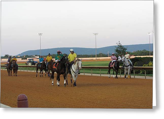 Charles Greeting Cards - Hollywood Casino at Charles Town Races - 12121 Greeting Card by DC Photographer