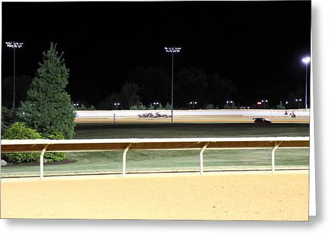 Game Greeting Cards - Hollywood Casino at Charles Town Races - 12122 Greeting Card by DC Photographer