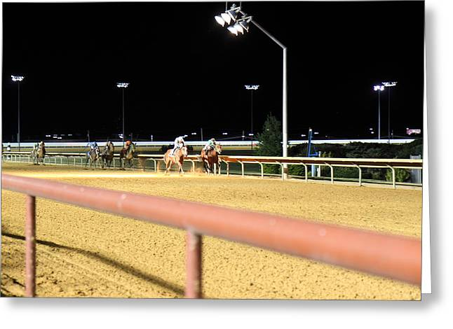 Town Photographs Greeting Cards - Hollywood Casino at Charles Town Races - 12124 Greeting Card by DC Photographer