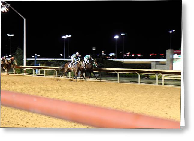 Charles Greeting Cards - Hollywood Casino at Charles Town Races - 12126 Greeting Card by DC Photographer