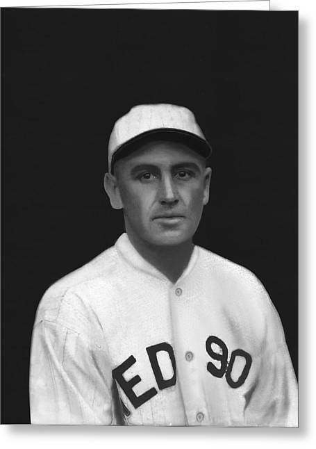 Boston Red Sox Greeting Cards - Howard S. Shanks Greeting Card by Retro Images Archive