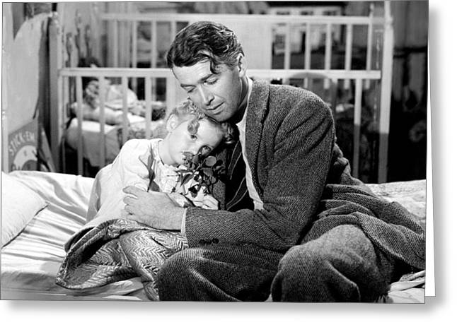 It Greeting Cards - Its a Wonderful Life  Greeting Card by Silver Screen