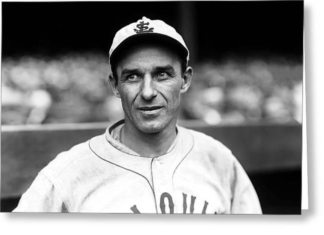 Third Baseman Greeting Cards - James F. Frank ORourke Greeting Card by Retro Images Archive