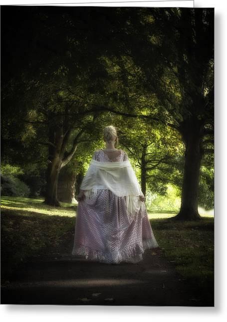 Period Greeting Cards - Jane Austen Greeting Card by Joana Kruse