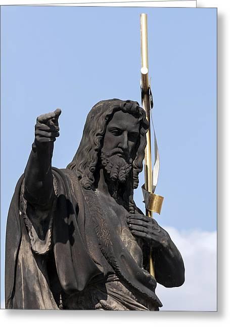 Jesus Christ. Greeting Card by Fernando Barozza
