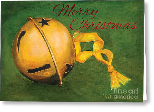 Bell Greeting Cards - Jingle Bells Greeting Card by Iris Richardson