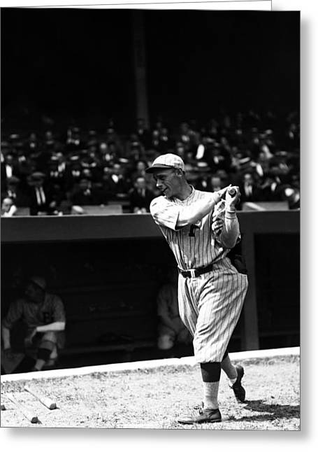 Philadelphia Phillies Stadium Greeting Cards - John H. Heinie Sand Greeting Card by Retro Images Archive
