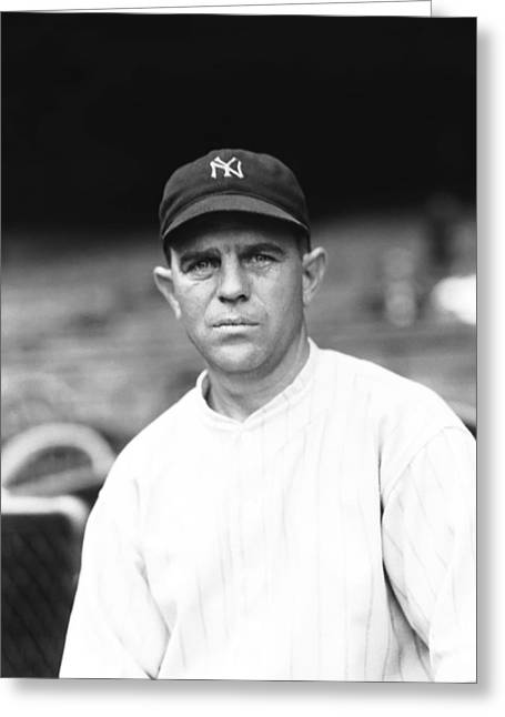 Yankees Shortstop Greeting Cards - Joseph W. Joe Sewell Greeting Card by Retro Images Archive
