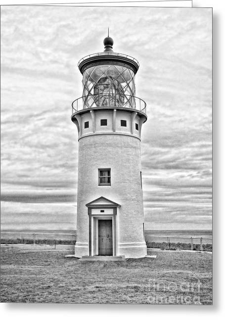 Kilauea Lighthouse Greeting Card by Scott Pellegrin