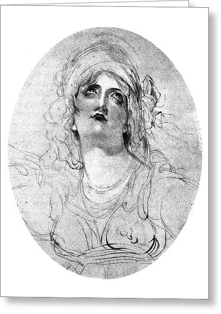Lady Emma Hamilton (1765-1815) Greeting Card by Granger