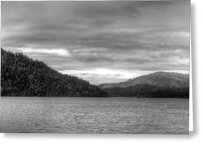 Lake Crescent Greeting Cards - Lake Cushman Greeting Card by Twenty Two North Photography
