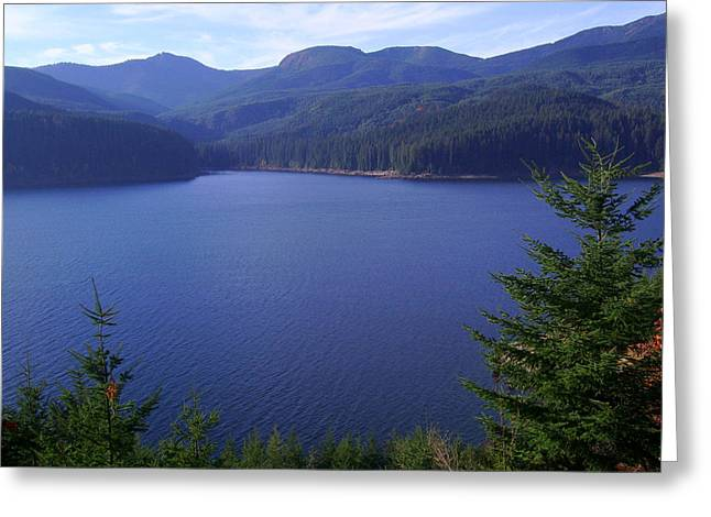 Lakes 1 Greeting Card by J D Owen
