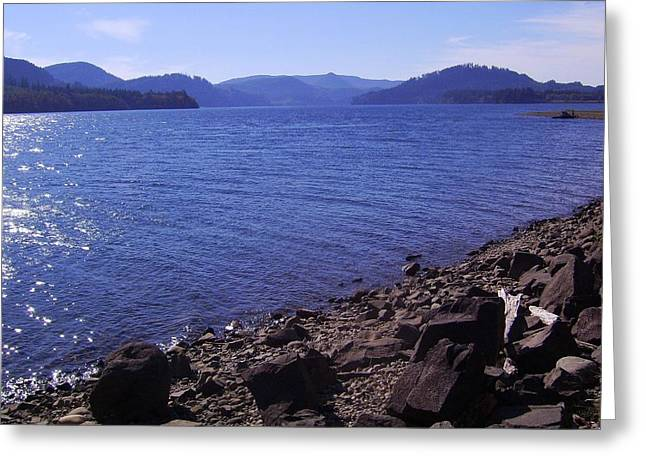 Majestic Greeting Cards - Lakes 2 Greeting Card by J D Owen