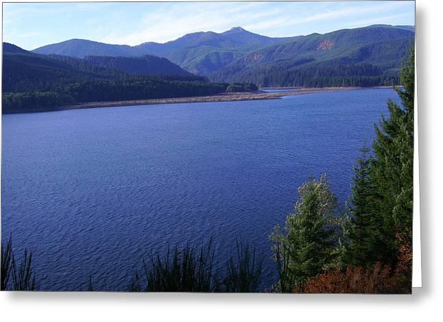 Lakes 4 Greeting Card by J D Owen