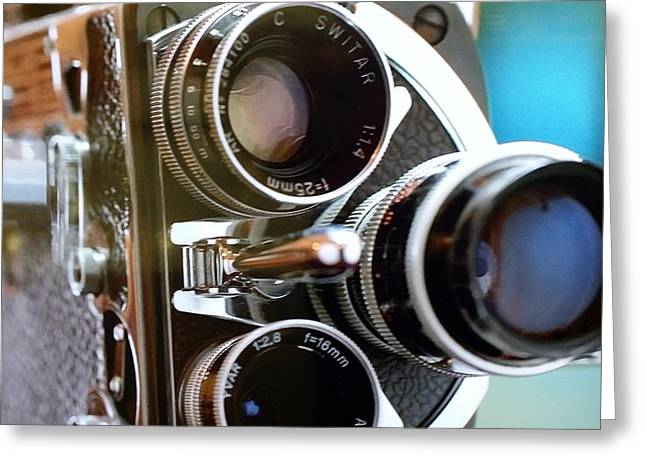 Over-exposed Greeting Cards - 3 Lenses Greeting Card by Rob Hans