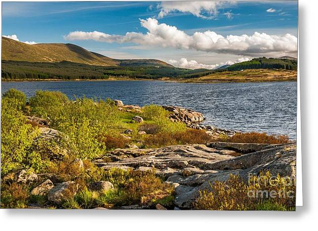 Ayrshire Greeting Cards - Loch Doon Greeting Card by Maciej Markiewicz