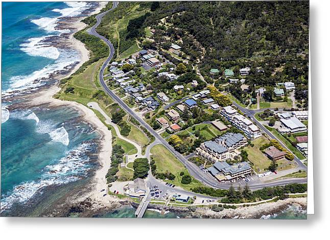 Surf City Greeting Cards - Lorne, Surf Coast Shire Greeting Card by Brett Price