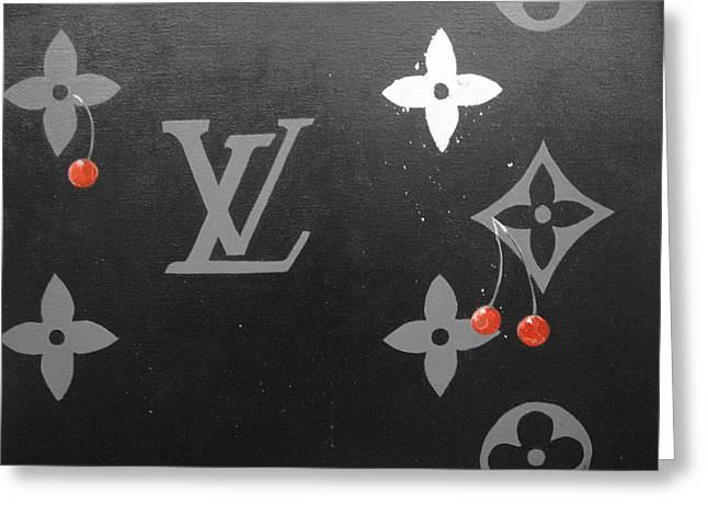Louis Vuitton  Greeting Card by Robert Cunningham