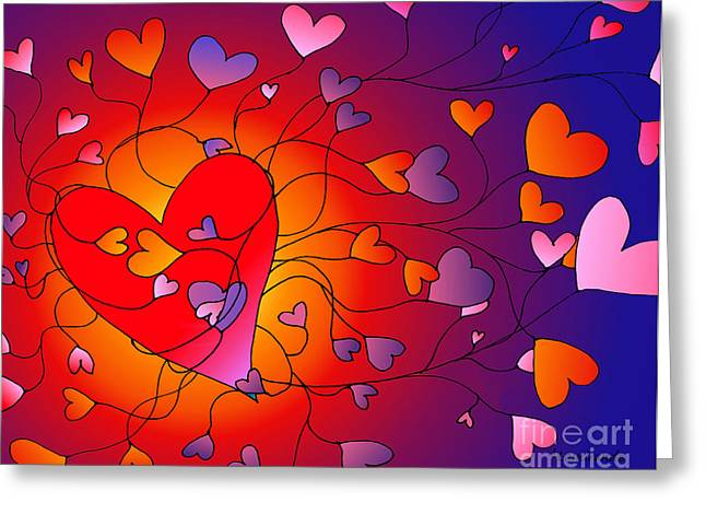 Self Love Greeting Cards - Love of Self and Others Greeting Card by Louise Lamirande