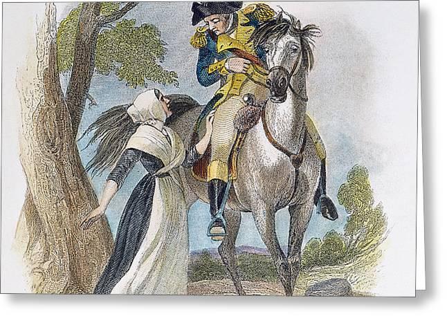 LYDIA DARRAH, 1777 Greeting Card by Granger