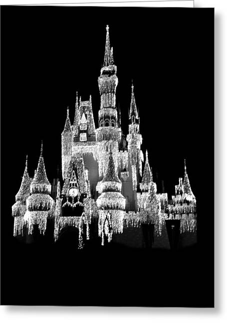 Orlando Magic Digital Art Greeting Cards - Magic kingdom Greeting Card by Sheela Ajith