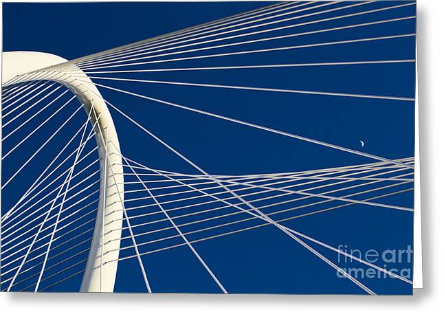 Margaret Hunt Hill Bridge Greeting Card by Elena Nosyreva