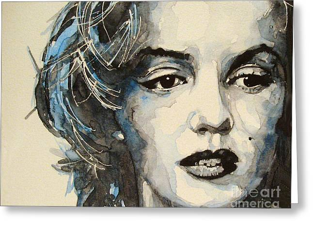 Marilyn Monroe Greeting Cards - Marilyn Greeting Card by Paul Lovering