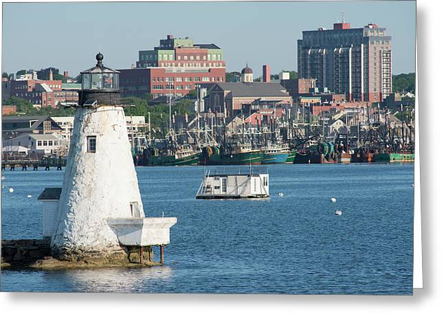 Massachusetts, New Bedford Greeting Card by Cindy Miller Hopkins