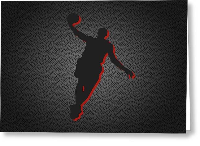 March Greeting Cards - Miami Heat Greeting Card by Joe Hamilton