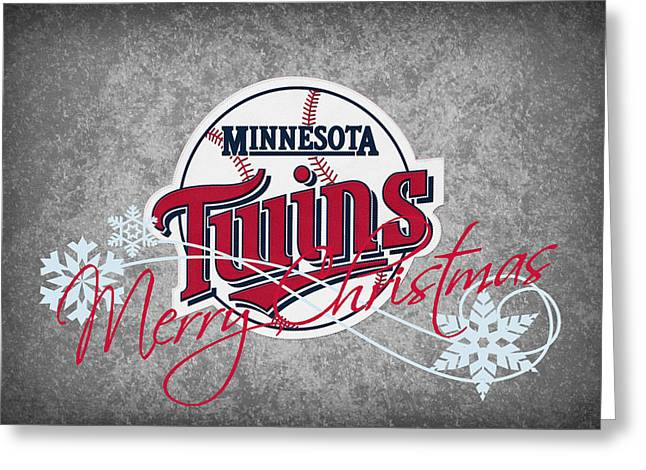 Twins Baseball Greeting Cards - Minnesota Twins Greeting Card by Joe Hamilton