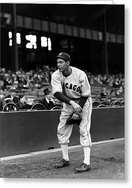 Baseball All Stars Greeting Cards - Monty Stratton Greeting Card by Retro Images Archive
