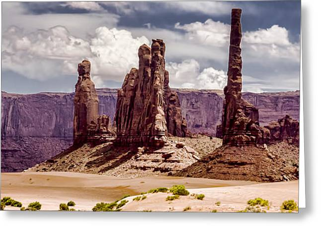 The Plateaus Greeting Cards - Monument Valley - Arizona Greeting Card by Jon Berghoff