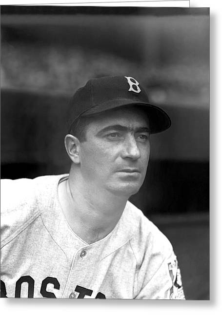 Boston Red Sox Greeting Cards - Morris Moe Berg Greeting Card by Retro Images Archive