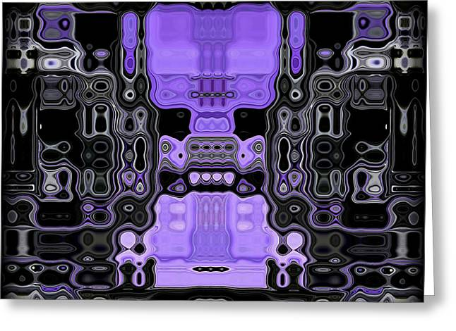 Dynamic Greeting Cards - Motility Series 3 Greeting Card by J D Owen