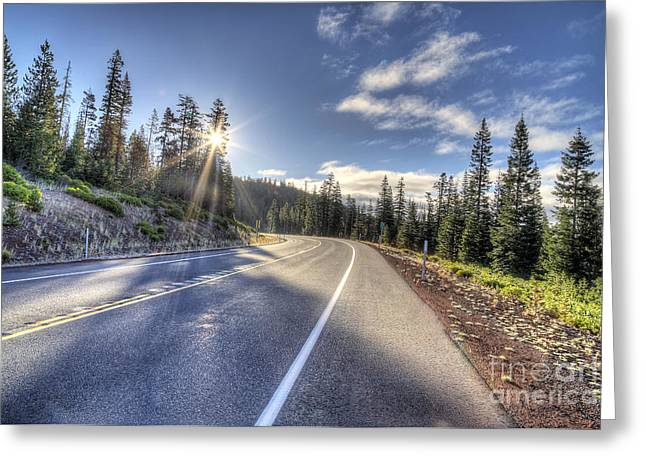 Mt. Bachelor Greeting Cards - Mount Bachelor Greeting Card by Twenty Two North Photography