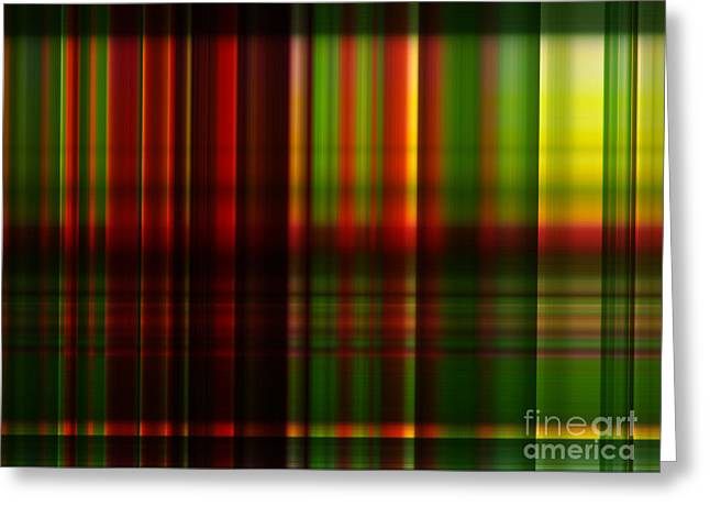 Abstract Style Greeting Cards - Multicolor gradient abstract background Greeting Card by Ammar Mas-oo-di