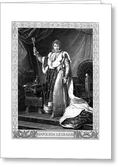 Napoleon Bonaparte Greeting Card by War Is Hell Store