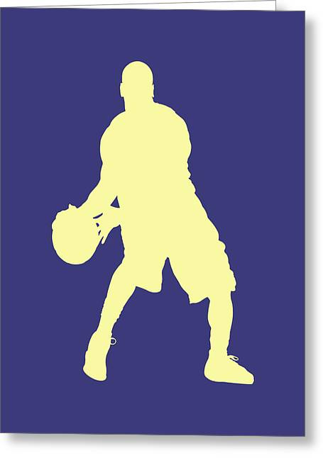 Basketball Team Greeting Cards - Nba Shadow Players Greeting Card by Joe Hamilton
